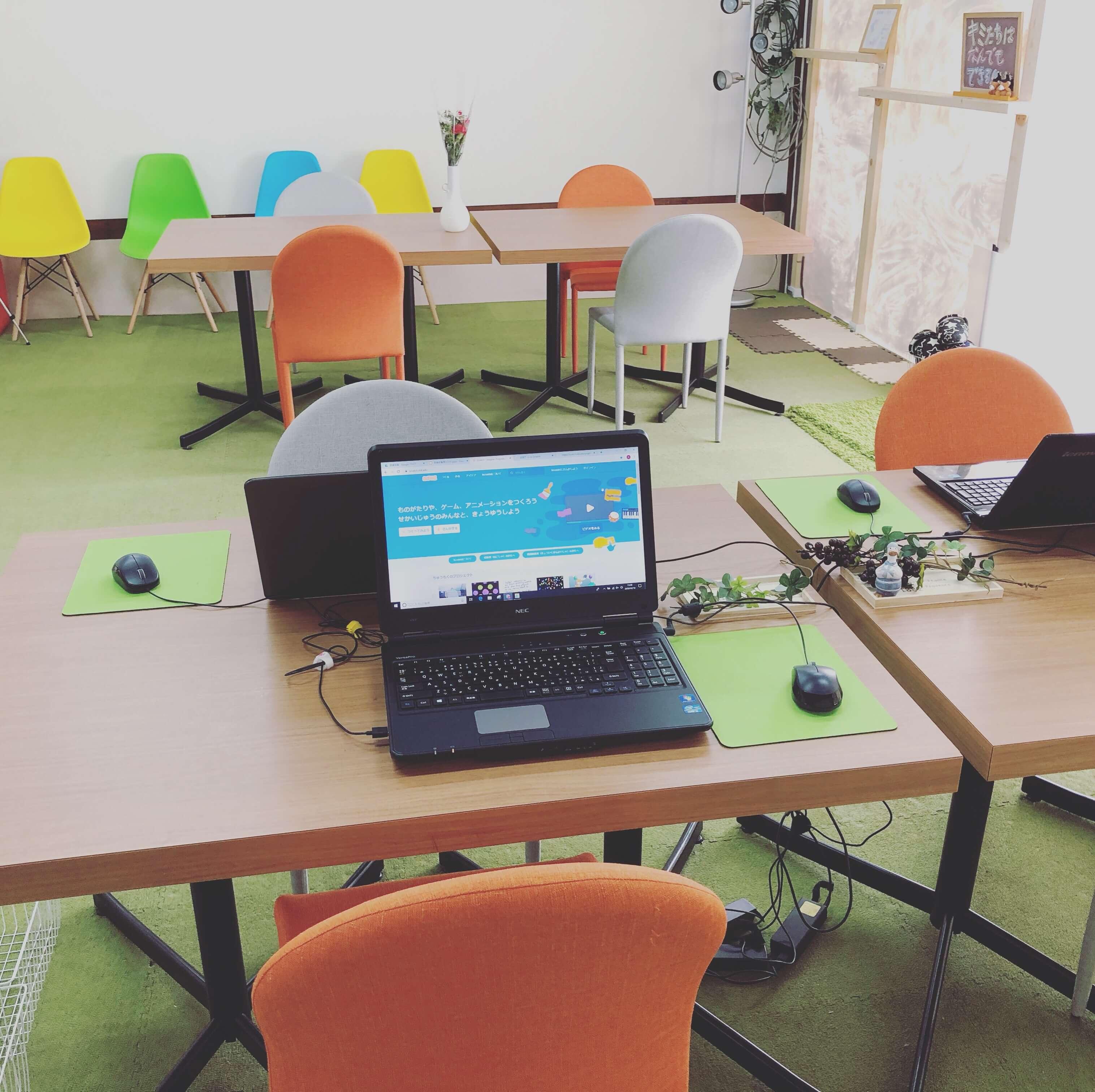 【内観】 教室内はこんな感じです!