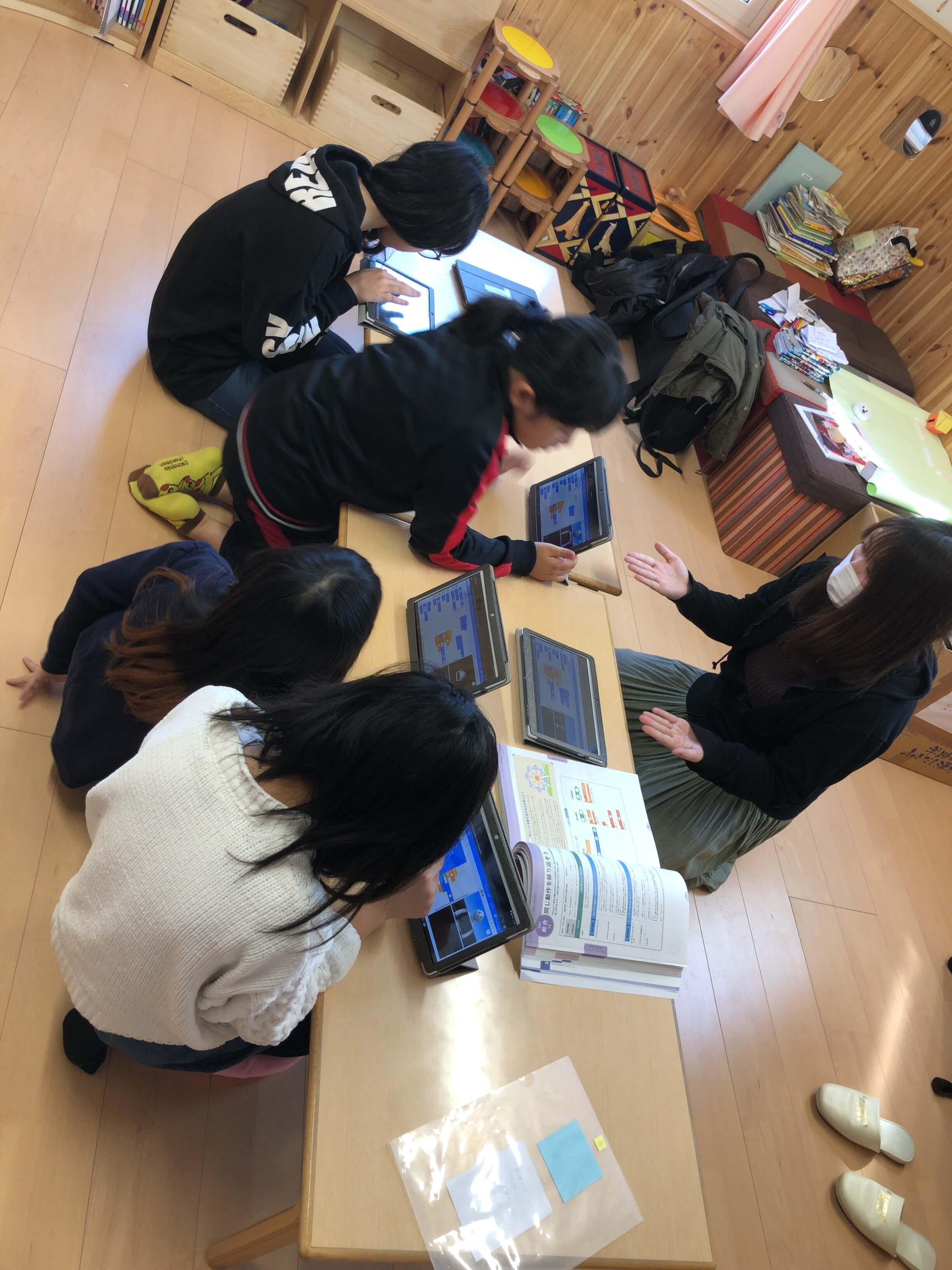 北陽幼稚園様 学童保育での出張プログラミング